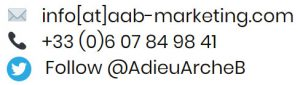 Contacter Adieu-Arche-B Marketing